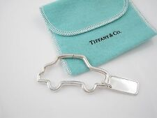 Tiffany & Co Silver Rare Vintage Car Key Ring Key Chain Keychain!