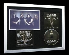 FEAR FACTORY+SIGNED+FRAMED+MECHANIZE+CARS=100% AUTHENTIC+EXPRESS GLOBAL SHIP!!