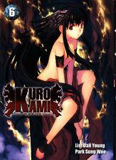 KURO KAMI   BLACK GOD    MANGA  N° 6     EDITIONS  I-OON