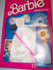 #7965 BARBIE BRIDE FASHION - WEDDING PARTY  (c) 1984