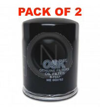 OSAKA Oil Filter Z313 - Mitsubishi Triton MN 2.5L - BOX OF 2