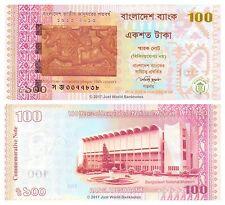 Bangladesh 100 Taka 2013  P-63 Commemorative Banknotes UNC