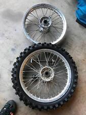 Yamaha WRX/YZ rear wheels
