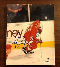Brendan Shanahan autograph 8 X 10 signed photo PSA NHL Detroit Redwings