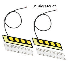 2x14cm Bright White LED COB Car Auto DRL Driving Daytime Running Lamp Fog Lights
