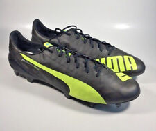 f1a78e29ff7 M2679 New Men s Puma evoSPEED SL FG Black Yellow Soccer Shoes Size 12.5 M