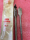 F3 Vintage No.1 Irwin USA Lockhead expansive drill Bit w/Box GC tool
