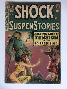 Shock Suspenstories #17, UNRESTORED, very nice
