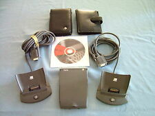 Palm Iiie Pda with 2 Docking Stations and 2 Leather Cases