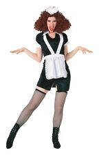 Licensed Magenta Rocky Horror Show Costume Fancy Dress Maid Size Aprox 12-16