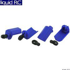 RPM R/C Products 80405 Shock Shaft Guard Blue Traxxas Nitro Slash (4)