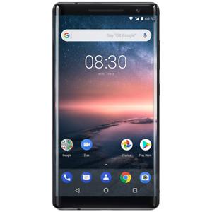 Nokia 8 SIROCCO - 128GB - Black (UNLOCKED/SIMFREE) Grade B