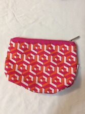 Clinique Cosmetic Makeup Bag Zipper Pouch, size: 9 in * 7 in * 1 in