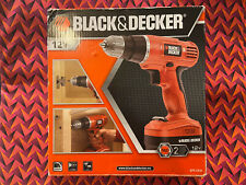 Black and Decker Cordless Drill with Battery - Excludes Charger and Drill Bits