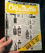 Hair Care Bottles ~ In March 1973 Old Bottle Magazine