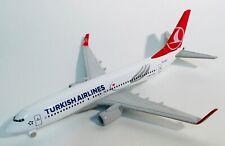 TURKISH AIRLINES Boeing 737-800 metal model airplane