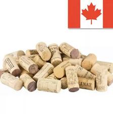 100 Pcs Wine Corks All Natural Used Wine Corks 🇨🇦 Seller!