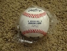 Rawlings Official CAROLINA LEAGUE Baseball (1 NEW Minor League Ball)