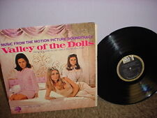Valley Of The Dolls Soundtrack Lp