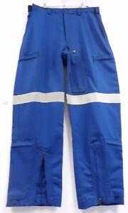 Wool Trouser Royal Blue (#35) Size: 99w, -4 waist, +2  per thigh