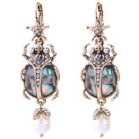 BJ New Fashion Jewelry Alloy Rhinestone Drop/Dangle star insect skull earrings