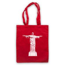 CHRIST THE REDEEMER CHRISTIAN JESUS BRAZILIAN STATUE SHOULDER TOTE SHOP BAG