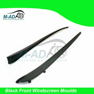 Black Front Windscreen Moulds Window Seal for Holden VE Commodore 2006-2013 V6