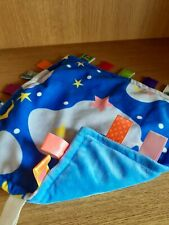 CONGERLE BABY SOOTHER SOFT COMFORTER TAGGIE TAGGY BLANKET