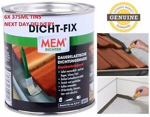 6X Sealfix Seal Fix DICHT-FIX WATERPROOF SEALANT Roof INSTANT LEAK STOP Sealer