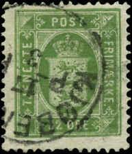 Denmark Scott #O9 Used  Official Stamp