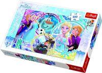 Trefl 100 Pièces Enfants Grand Disney la Reine des Neiges Land Amitié Puzzle