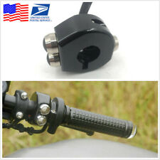 CNC Motorcycle Cafe Race Custom Handlebar 3 Buttons Self Latch/Momentary Switch