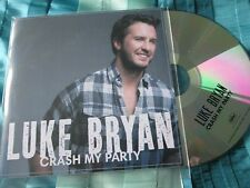 Luke Bryan – Crash My Party Capitol Records Nashville Deluxe Promo CD Album