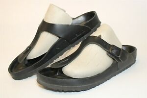 Birkenstock Womens Size 9 40 Gizeh Essentials Thongs Germany Made Sandals Shoes