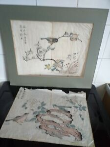 Two Vintage Chinese Paintings