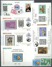 100 Jahre UPU - Bolivien, Bolivia - LOT ** MNH 1974
