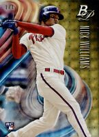 NICK WILLIAMS 2018 Bowman Platinum GOLD SUPERFRACTOR ROOKIE #d 1/1
