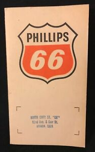 Old Sewing Needle Kit - Phillips 66 Advertisement Sewing Needles Arvada, Colo.