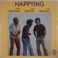 ANDY SIMPKINS, JOEY BARON, DAVE MACKAY: Happying ST 7-403 Sealed Jazz LP