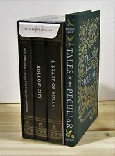 RANSOM RIGGS PECULIAR CHILDREN BOX SET + TALES SIGNED NEW MISS PEREGRINE