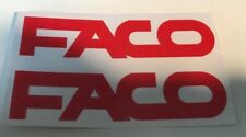 2 Autocollant faco Peugeot 103 mvl sp Mbk 51 xr racing magnum Couleur Au Choix