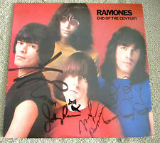 Ramones End of the Century Signed