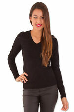 Acrylic V-Neck Thin Women's Jumpers & Cardigans
