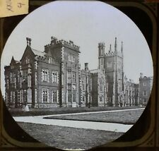 Queen's College, Belfast, Ireland, Old Antique Magic Lantern Glass Slide