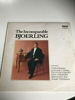 VICS 1740 The Incomparable Bjoerling 1973 RCA Stereo NM/EX