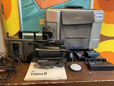 Sony CCD-V7AF Video8 Handycam + Case