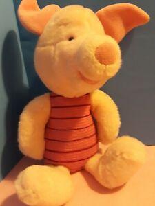 """Gund Disney Piglet Winnie the Pooh 13"""" Plush Fuzzy Pink"""