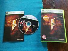 🎮Resident Evil 5 Xbox 360 Ottima Edizione Inglese Gioco Italiano Completa