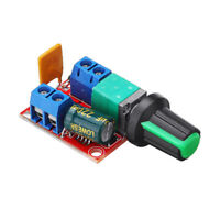 Mini DC Motor Controller High-Speed PWM LED Dimmer 3V - 35V 5A For LED Strips