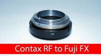 Contax RF KIEV RF to Fuji FX adapter with focusing part CRF FX adapter